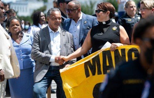 Revs. Jesse Jackson, William Barber arrested in protest urging Manchin to nix filibuster
