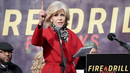 Jane Fonda: Biden hasn't done 'enough' on oil pipelines