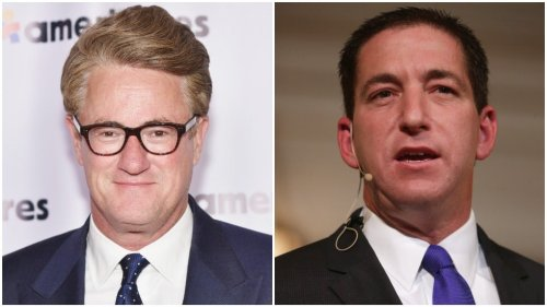 Scarborough, Greenwald trade insults on Twitter over rise of Trump