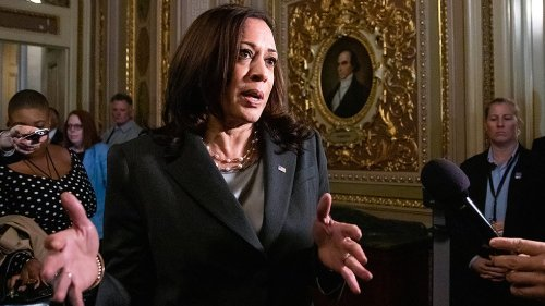 Harris meets with Stacey Abrams, voting rights advocates