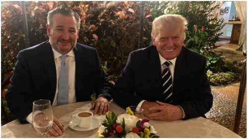 Ted Cruz says Trump was in 'great spirits' during dinner at Mar-a-Lago