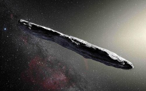Scientists found a #Spaceship in Our Solar System? Is this an Alien Ship?