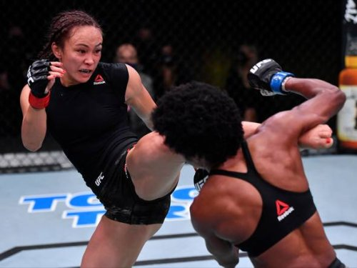 UFC Vegas 26: Michelle Waterson felt bad for Zhang Weili after Rose Namajunas loss