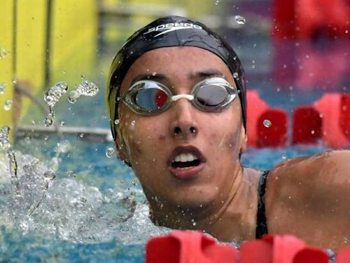 Kenisha bags gold in 50m freestyle, clocks personal best at Uzbekistan qualifier