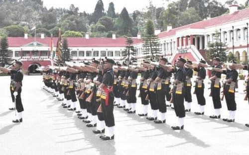 66 recruits attested into Madras Regiment