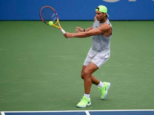 After time off, Nadal back in action with Washington debut
