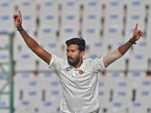 IND vs SL: Sandeep Warrier dons the India colours, finally
