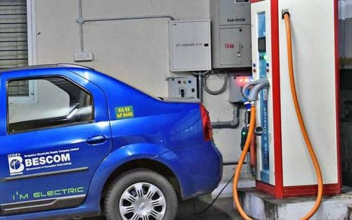 Usage of EV charging stations up to 15%