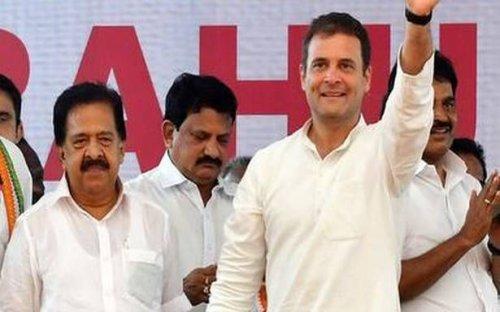 Rahul, Chennithala meet sparks talk of reshuffle in Cong.
