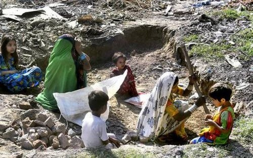 This is our home, where will we go, ask Pak. Hindu families staying in north Delhi camp