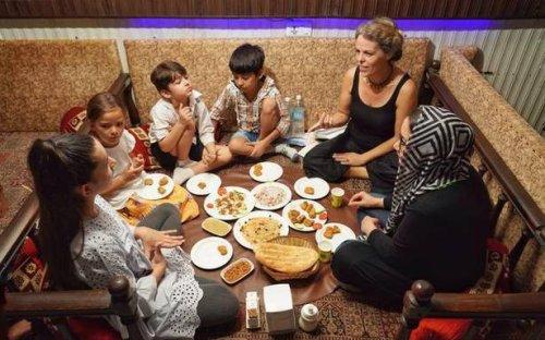 The hospitality of Qabuli pulao