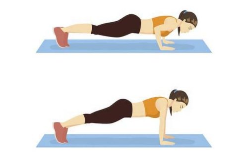 How to do a push-up, for beginners