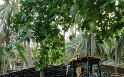 Lakshadweep administration demolishes structure built by panchayat