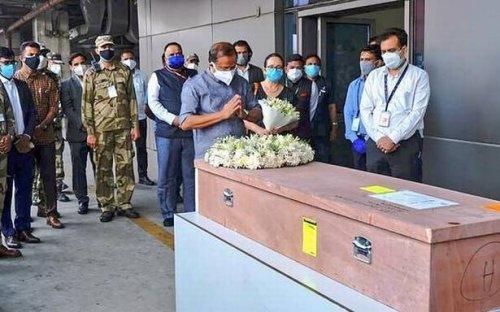 Mortal remains of Soumya Santhosh arrives in Kochi