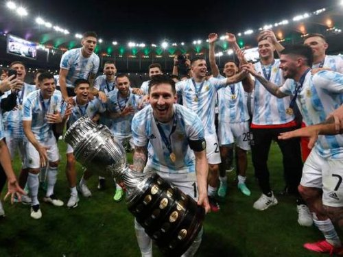 Lionel Messi finds his salvation at Copa America