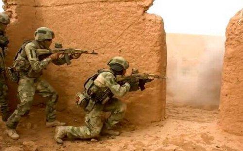 Russian, Tajik troops hold joint drills near Afghan border