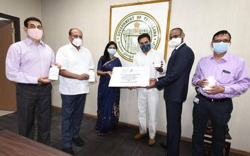 Granules India pledges 16 crore paracetamol tablets to govt.