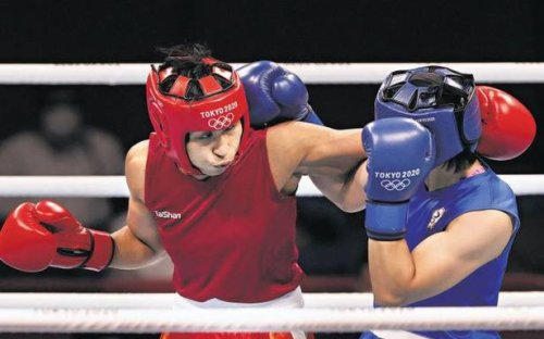 Lovlina Borgohain emerges as third Indian boxer to secure Olympic medal