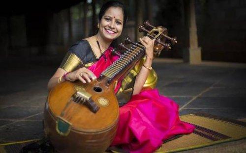 Jayanthi Kumaresh tells stories through the veena