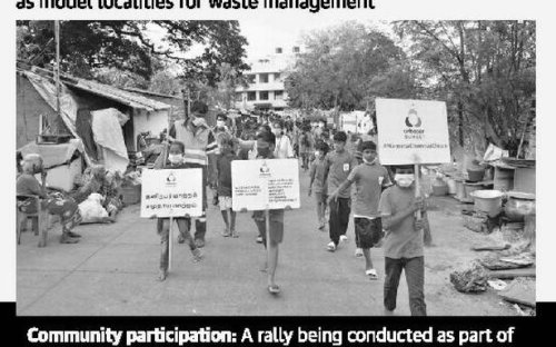 Three areas of Chennai become model localities for waste management