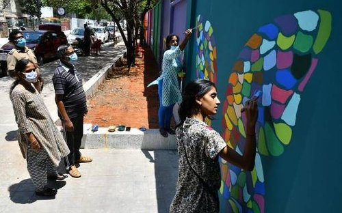 Soon, a butterfly habitat and wall paintings to beautify a street along Chennai's Buckingham Canal