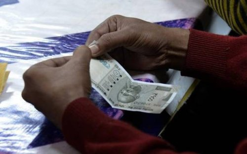 Rupee drops by 2 paise to 74.42 against U.S. dollar, snaps three-day winning streak
