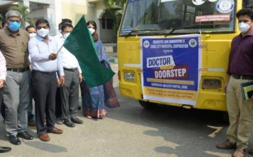 Coronavirus   Seven mobile dispensaries to screen residents, lift swab samples in Erode