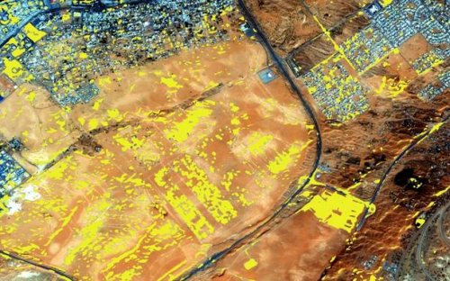 Microsoft partners with aerospace firm for automated satellite image processing