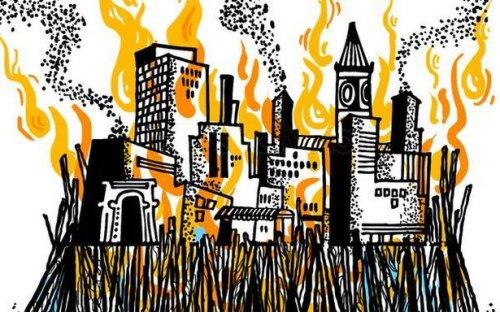 When a city dies