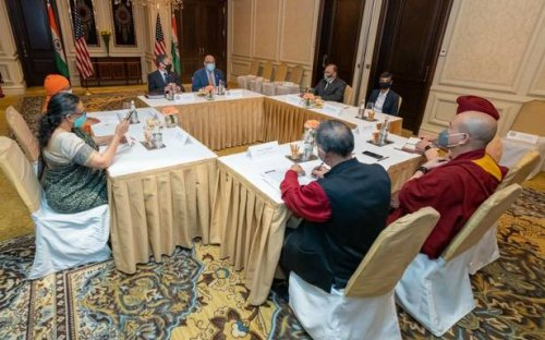 Blinken sends messages on democratic freedoms to India, Tibet to China in civil society meet