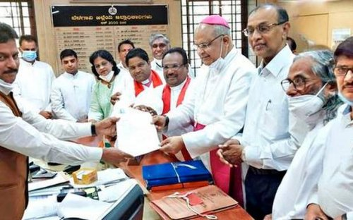 Christians submit memorandum against move to conduct survey of churches