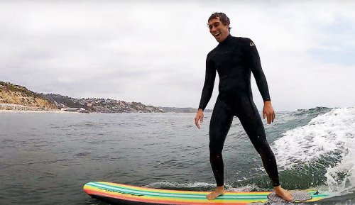Koa Rothman's First Surf After Spine Surgery Was Pure Joy
