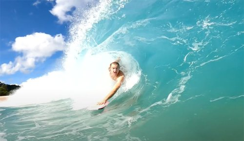 Jamie O'Brien is Body Surfing Again After Knee Surgery
