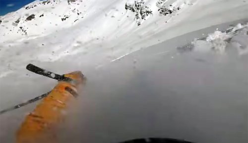 Terrifying GoPro Avalanche Video Shows Full Burial and Recovery (It's as Real as It Gets) | The Inertia