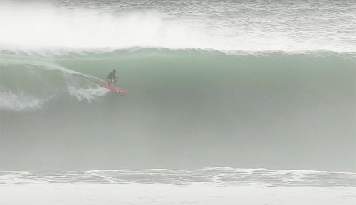 Bruno Santos Surfed a Minute-Long Uluwatu Bomb That Blew the Crowd's Mind