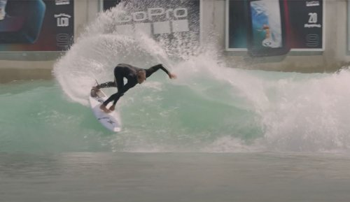 Koa Smith Surfed BSR Wave Pool to Compare Man Made Vs. Natural Waves