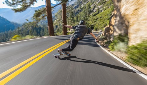 And Now, Raw Footage of Skater Riding Steep Northern California Road to Start the Week | The Inertia