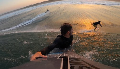 Nathan Florence and POV Footage of One of the Most Epic Mexican Mornings