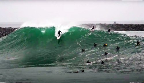 While the Surfing World Focused on Trestles, the Wedge Went Richter | The Inertia
