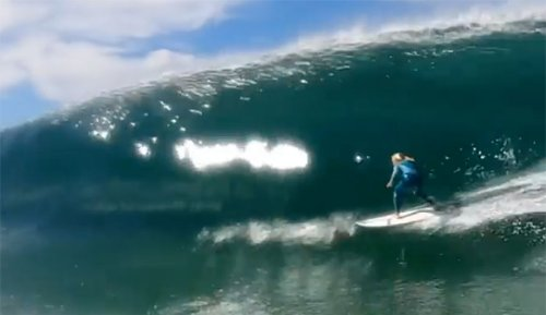 14-Year-Old Sierra Kerr Steps Off Into a Stunningly Good Tube | The Inertia