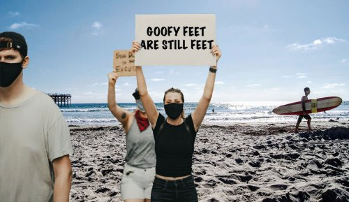 Activists to Protest Term 'Goofy Foot' as Discriminatory Speech
