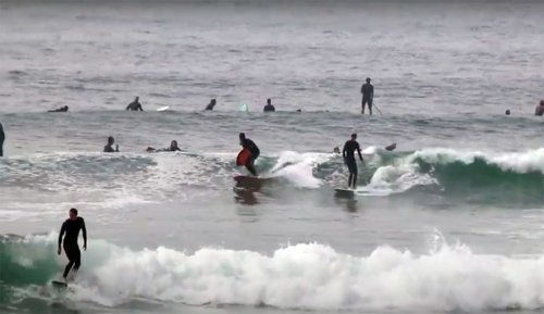 A Reminder of Why Malibu Really Isn't That Fun of a Place to Surf   The Inertia