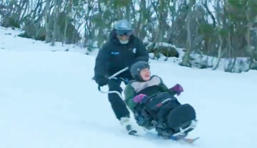 60 Seconds of Brilliant Adaptive Skiing From Australia's Thredbo Resort Will Make Your Day   The Inertia