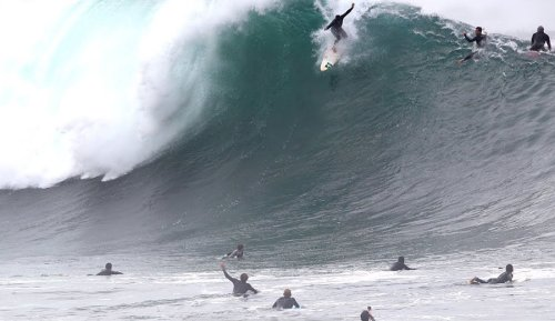 More Insane Footage of The Wedge From September 14th