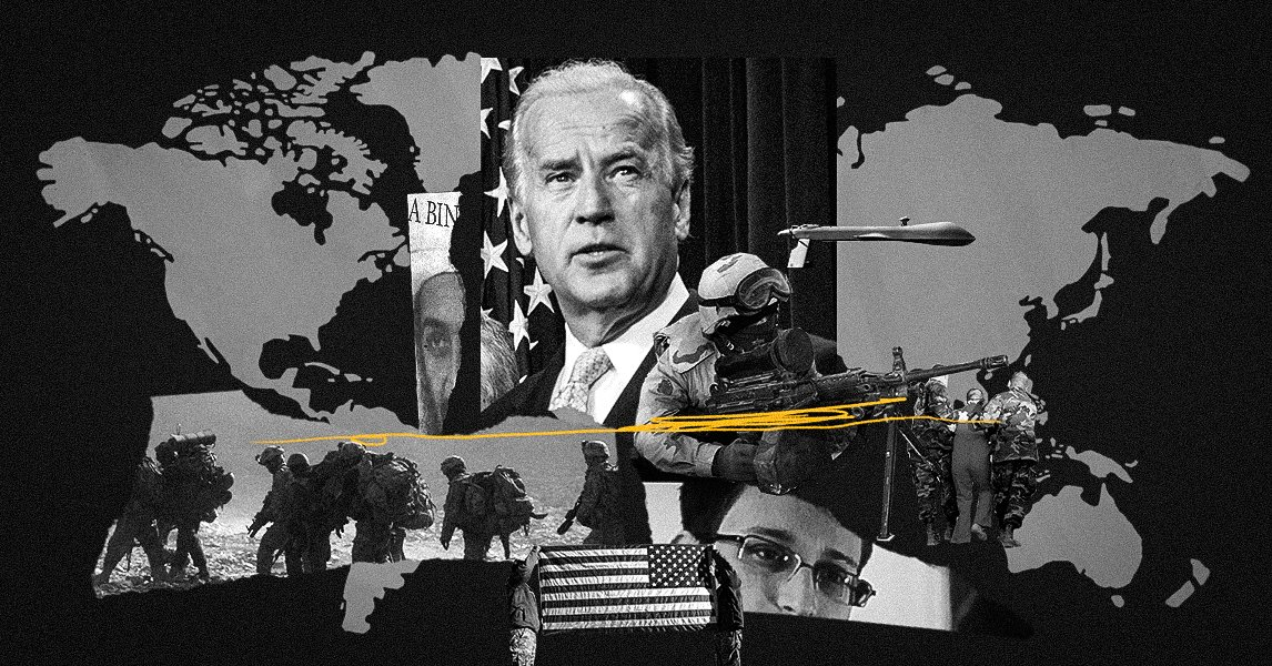 A Half-Century of Joe Biden's Stances on War, Militarism, and the CIA - cover