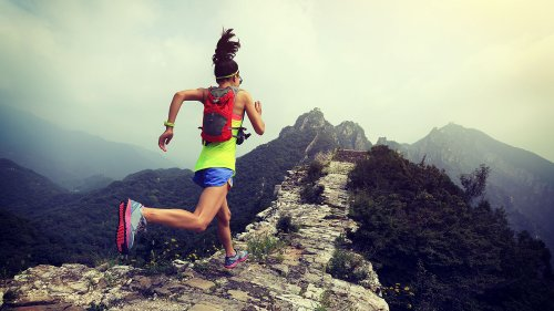 The 3 most motivating words: Just keep going
