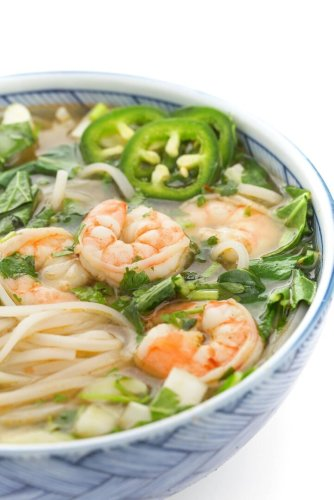 Shrimp Pho – Vietnamese Noodle Soup