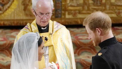 Archbishop Sets The Record Straight On Harry And Meghan's Real Wedding Date