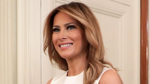 What Melania Trump typically eats in a day