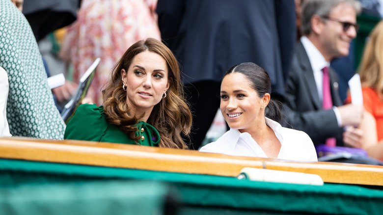 Body Language Expert Reveals What Meghan Markle Really Thinks About Kate Middleton